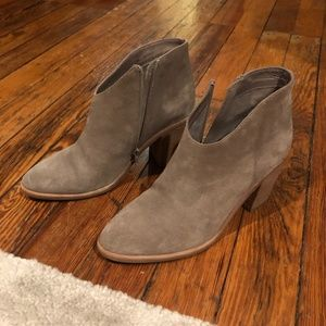 Jeffrey Campbell Ankle Bootie -- Grey -- Size 8